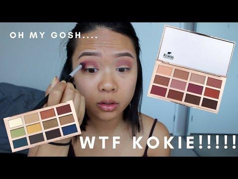 Kokie Cosmetics Artist Palette First Impressions | cakedbybabyk