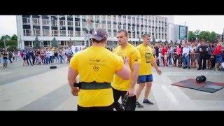 Чемпионат сети фитнес-центров KING FIT по силовому экстриму