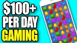 Earn $100 Per Day Playing Games (games That Pay Real Money)   Make Money Online