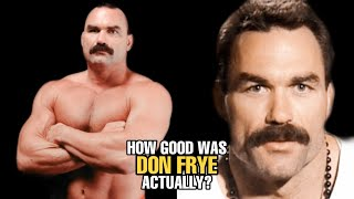 How GOOD was Don Frye Actually?