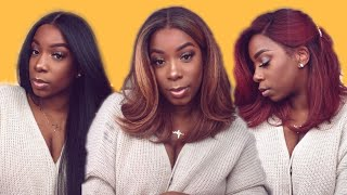 NEW $30 Synthetic Slayer! | Outre Neesha | 201 & 203 | Realistic Natural Blowout Wig | Ebonyline