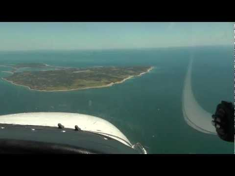 Block Island Arrival with CTAF