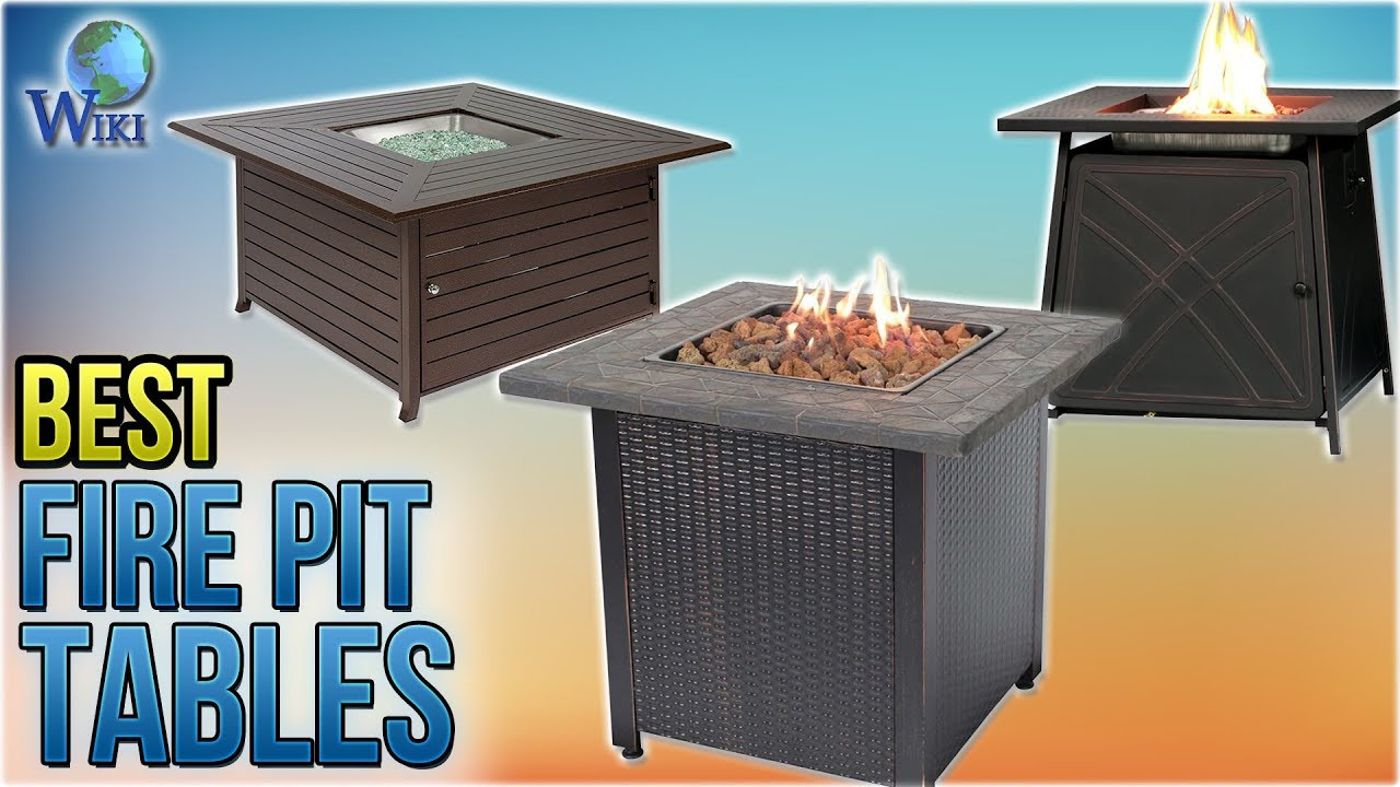 10 Best Fire Pit Tables 2018 You