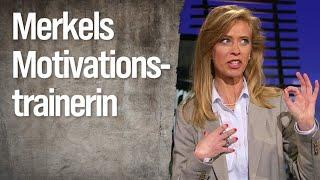 Ehring im Gespräch mit Merkels Motivationstrainerin