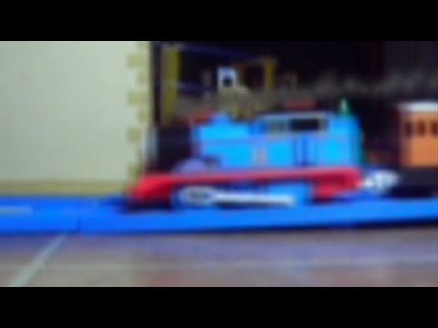 TOMICA Thomas the Tank Engine Puffing Smoke (Smoke FX Test)