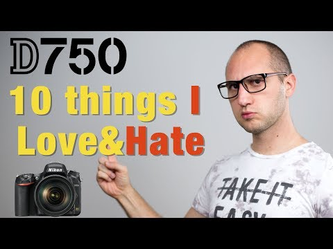 Nikon D750 - 1 year experience