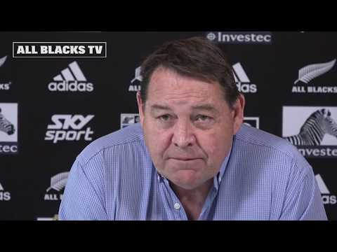 Steve Hansen on the All Blacks Vista Northern Tour squad