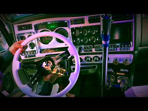 Installing White Wood Grain Steering Wheel (Snow White) KENWORTH T660