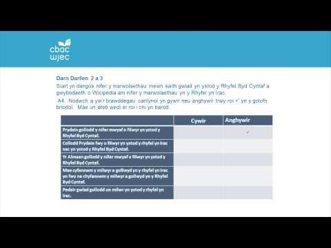 CBAC TGAU Cymraeg Iaith - Manyleb Newydd | WJEC GCSE Welsh Language - New Specification