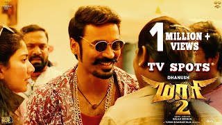 Maari 2 TV Spots (Movie Releasing Tomorrow) | Dhanush | Balaji Mohan | Yuvan Shankar Raja