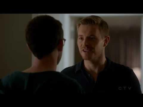 Rick Cosnett 2 Elias Harper & Simon Asher gay espionage  Quantico tv series