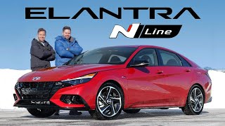 2021 Hyundai Elantra N Line Review // Don't Underestimate It