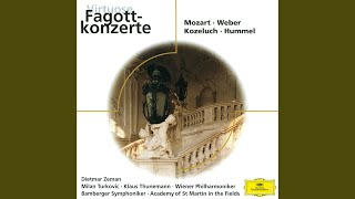 Hummel: Grand Concerto for Bassoon and Orchestra in F - 2. Romanza (Andantino e cantabile)