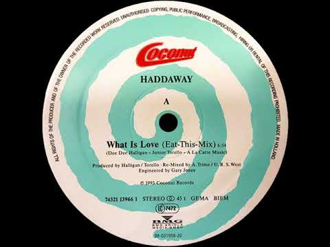Haddaway - What Is Love (Eat-This-Mix)