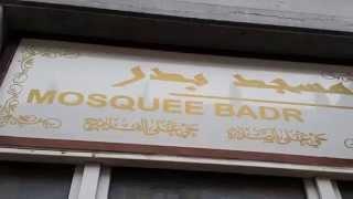 Visite à l'asbl Mosquée Badr, l'une des 1ères mosquée de la commune de Molenbeek - Bruxelles