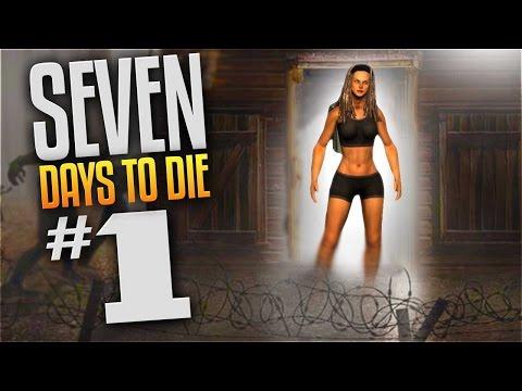 7 Days To Die Gameplay - Ep 1 - Zueljennifer (Let's Play 7 Day to Die Multiplayer Alpha 14.7)