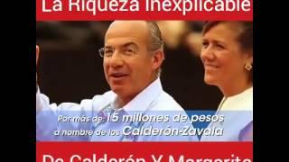 La riqueza inexplicable de los Calderón
