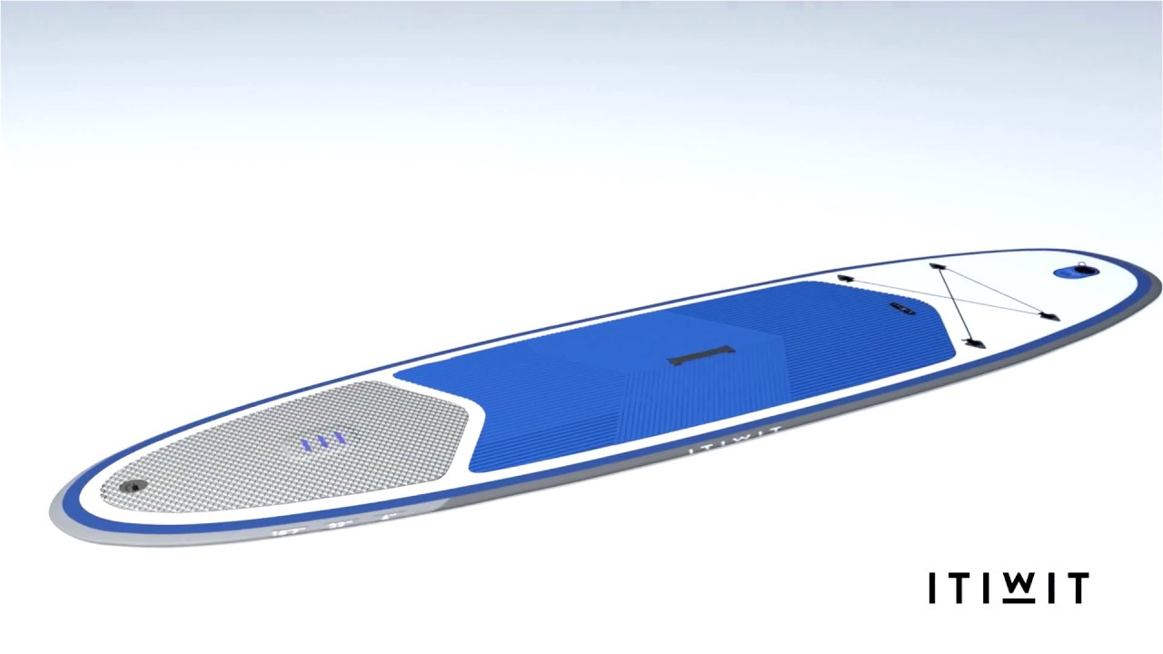 ITIWIT - Stand up Paddle 10 7 3D (FR) - YouTube f54af76201