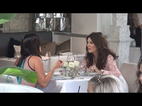 Lisa Vanderpump And Kyle Richards Have Animated Lunch As Brandi Glanville Is Off RHBH