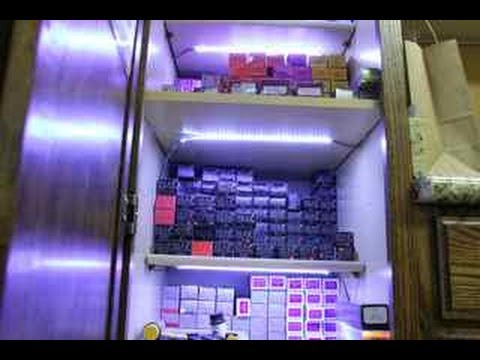 How to power LED Lights inside & under cabinets - YouTube