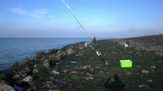 Seafishing @ Westkapelle Netherlands with low water