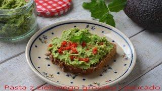 Pasta z zielonego groszku i avocado - TalerzPokus.tv