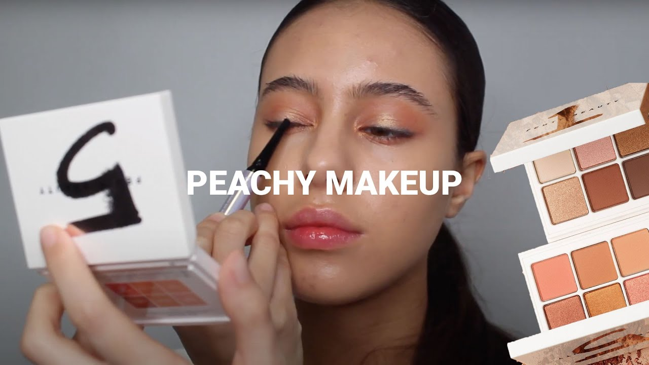 PEACHY MAKE-UP FT. FENTY BEAUTY | Jessicvpimentel