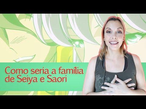 Como seria a família de Seiya e Saori?