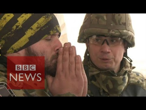 Ukraine: On a drone mission in Donetsk - BBC News
