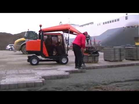 H88: Economical Paver Laying Machines for harbors, ports