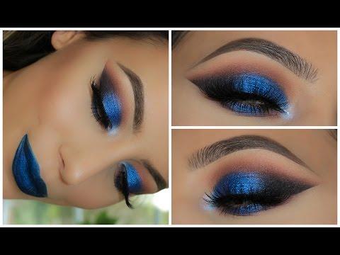 Metallic Blue Smokey Eye | Amys Makeup Box
