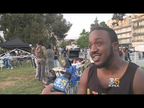 Large Crowd Turns Out For 'Barbecuing While Black' Protest At Lake Merritt