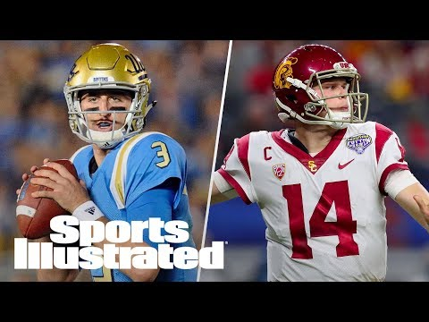 Sam Darnold Gives Thoughts On Josh Rosen, Assessing Yankees' Improvement | LIVE | Sports Illustrated