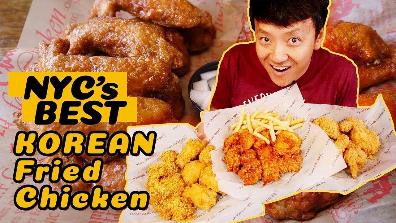 Download BEST Korean Fried Chicken In New York! RAMEN Chicken! SPICY CHEESE Stuffed Chicken