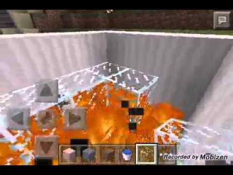 Como hacer una piscina con burbujas minecraft youtube for Como construir una piscina