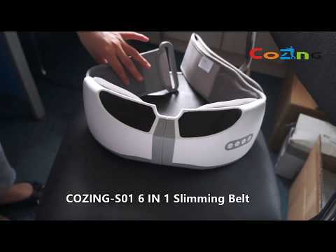 cozing-s01-slimming-belt-lllt-lipo+-rf+ultrasonic+massage+high-frequency-vibration+far-infrared-heat