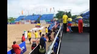 Eliminatorias de Fútbol Playa - Paraguay 2017 - Colombia Vs Ecuador