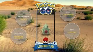 [Przypomnienie] Shiny Larvitar na Community day 16.06.18 w Pokemon GO!
