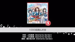 Gambar cover BanG Dream! - Girl's Band Party : 1000-kai Urunda Sora [Expert]