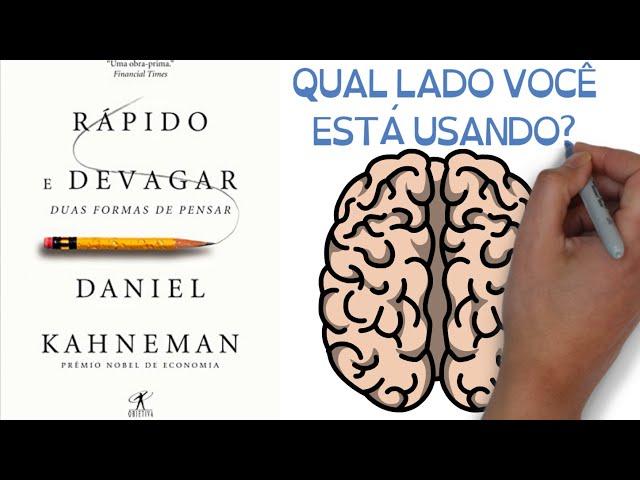 Livro RÁPIDO E DEVAGAR: DUAS FORMAS DE PENSAR | de Daniel Kahneman
