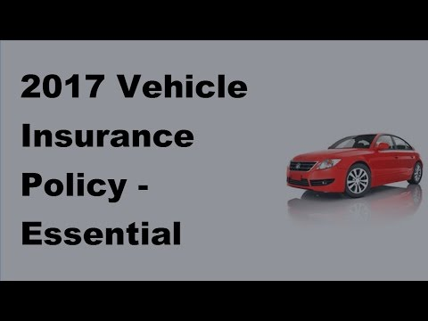 2017 Vehicle Insurance Policy |Essential Information on Car Insurance in Alaska
