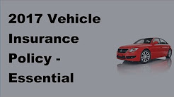 2017 Vehicle Insurance Policy |  Essential Information on Car Insurance in Alaska