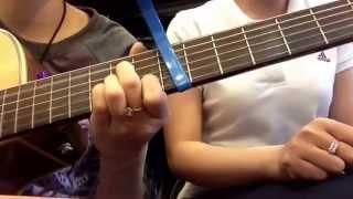 Khoảng không chơi vơi (demo) trang pháp-oplus band cover by quỳnh trâm-trúc mini