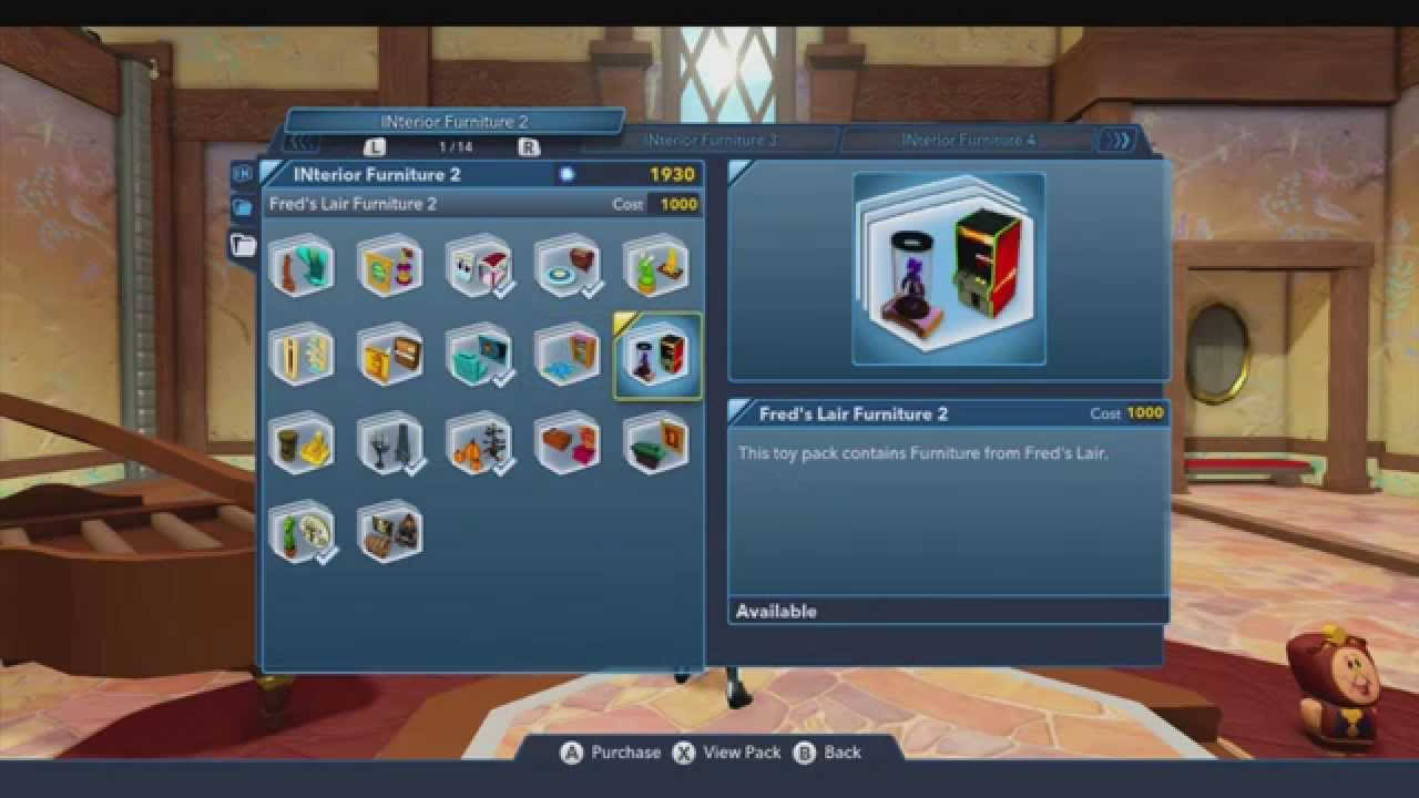 INterior Decorating And Toy Store With Quorra! (Disney Infinity 3.0)