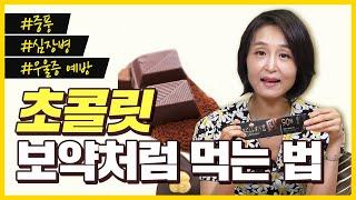 초콜릿 보약처럼 먹는 …
