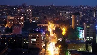 Ростов ночью