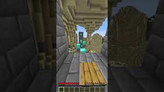 satisfying minecraft parkour gauntlet TAS (part 16) Parkour Edit #shorts