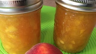 Peach Jam (no Pectin) - Rise Wine & Dine - Episode 34