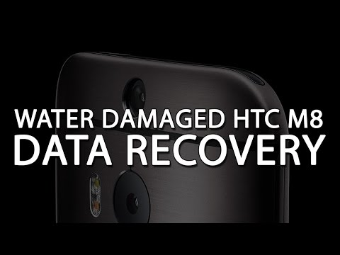 How to Recover data from water damaged HTC M8 - Chip off