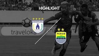 Pekan 22 Cuplikan Pertandingan Persipura Jayapura vs Persib Bandung 28 Agustus 2017
